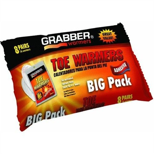 Grabber Toe Warmers Big Pack 8