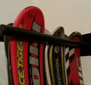Guarda Esquís 9 pares detalle
